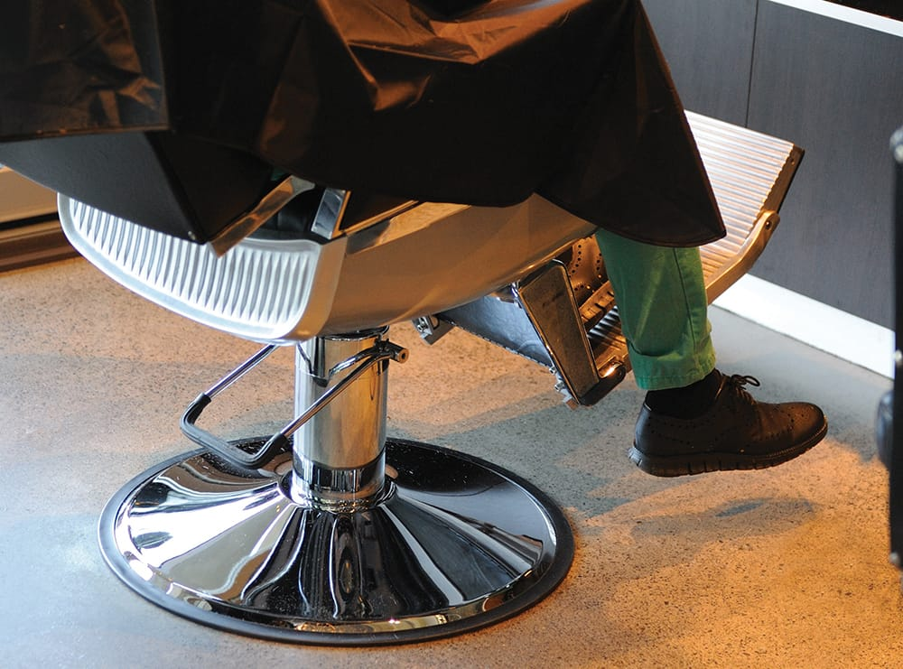The One Thing You Need to create a 'Man Space' in Your Salon.