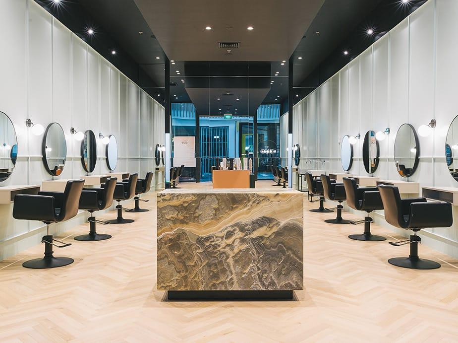 The Cut.  A Fashion Forward Minimalist Salon