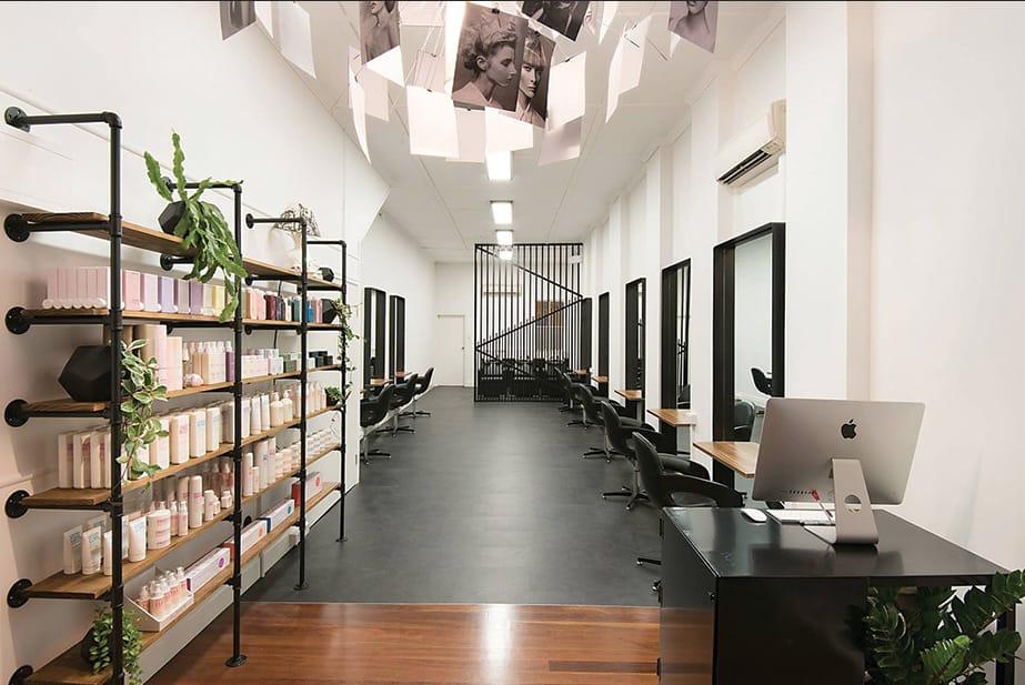 Helmet Hair Co.  Craig Smith's Cool & Casual Industrial Salon
