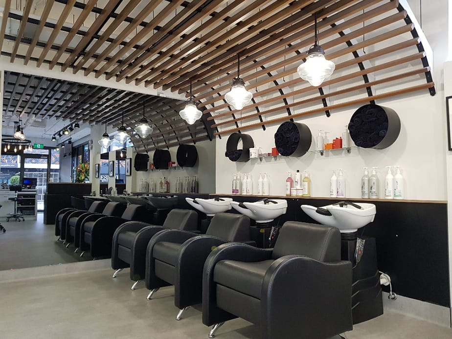 Orb Hair.  A lesson in 'transitional' salon design